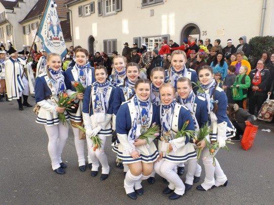 Mädchengarde ALtstadtfunken
