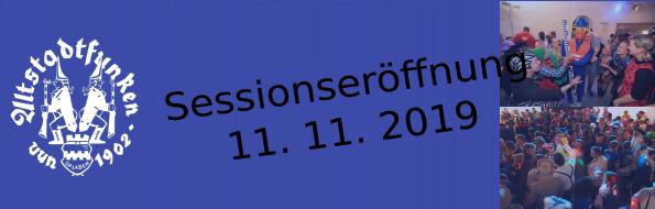 Sessionseröffnung
